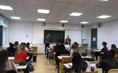 Rencontre entre les premières SAPAT et des anciens élèves